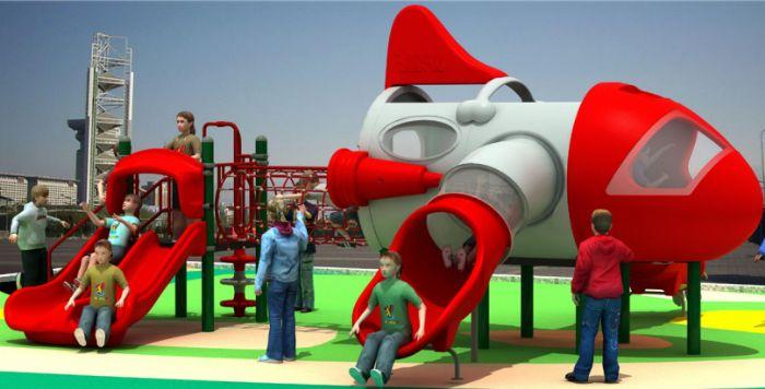 飞机系列-儿童游乐设施