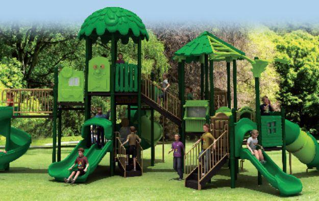 森林系列-儿童游乐设施