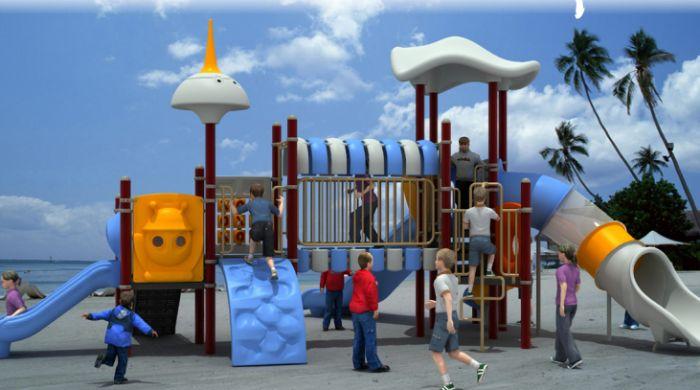 太空系列儿童游乐设施